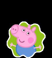 George Pig Splat PNG
