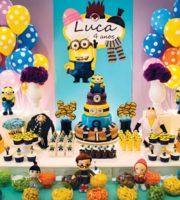 Ideias de Decoração para festa infantil dos Minions