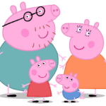 Peppa Pig – Família Pig PNG 01