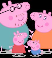 Peppa Pig - Família Pig PNG