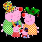 Peppa Pig – Família Pig PNG 03