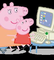 Peppa Pig - Mamãe Pig PNG