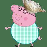 Peppa Pig – Papai Pig PNG 05