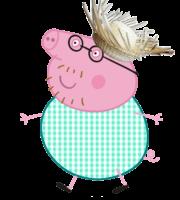 Peppa Pig - Papai Pig PNG
