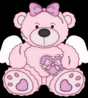 Ursinha Rosa PNG