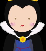 Branca de Neve Cute Rainha Má PNG