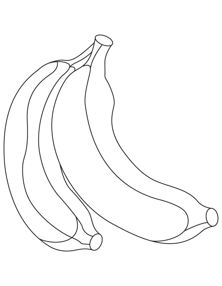 Desenhos De Banana Para Colorir E Imprimir Desenhos Para Pintar