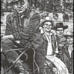 Desenhos para Colorir e Imprimir Western Legends