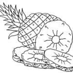 Desenhos para Colorir de Frutas