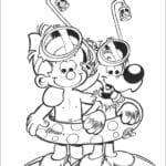 Desenhos de Boule E Bill Para Colorir e Imprimir
