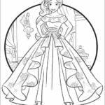 Desenhos de Elena de Avalor para Colorir e Imprimir