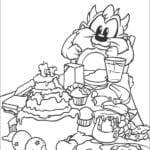 Desenhos do Baby Looney Tunes para colorir