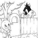 Desenhos do Baby Looney Tunes para colorir e Imprimir