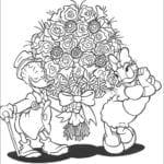Desenhos do Pato Donald para colorir e Imprimir