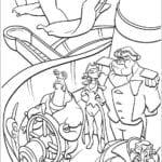 Desenhos do Planeta do Tesouro para Colorir e Imprimir