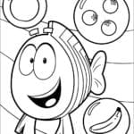 Desenhos para Colorir Bubble Guppies