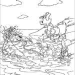 Desenhos da Margarida para colorir e Imprimir
