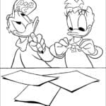 Desenhos para colorir e Imprimir da Margarida