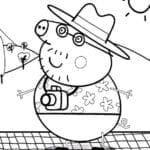 Imagens da Peppa Pig para Colorir