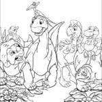 Desenhos do Em Busca do Vale Encantado para colorir