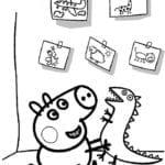 Desenhos para Colorir e Imprimir da Peppa Pig