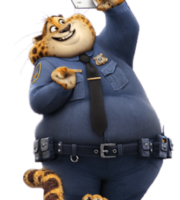 Zootopia - Benjamin Clawhauser PNG
