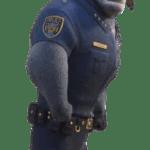 Zootopia – Chefe Bogo PNG 03