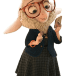 Zootopia – Dawn Bellwether PNG 02