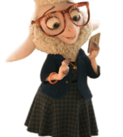 Zootopia - Dawn Bellwether PNG