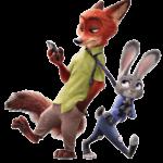 Zootopia – Judy Hopps e Nick Wilde PNG 03