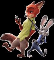 Zootopia - Judy Hopps e Nick Wilde PNG