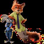Zootopia – Judy Hopps e Nick Wilde PNG 07