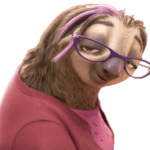 Zootopia – Priscilla the Sloth PNG