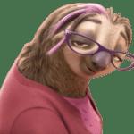 Zootopia – Priscilla the Sloth PNG