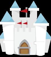 Branca de Neve Cute Castelo PNG 03