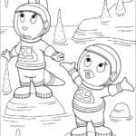 Desenhos Os Backyardigans para Colorir e Imprimir
