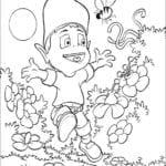 Desenhos para Colorir e Imprimir do Adibou