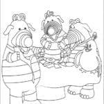 Desenhos para Colorir e Imprimir Fimbles