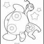 Desenhos para colorir e Imprimir Sargento Keroro