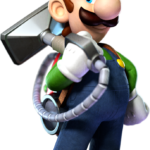 Super Mario – Luigi PNG 21