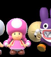 Super Mario - Personagens Super Mario PNG