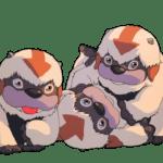 Avatar A Lenda Aang Appa PNG 02