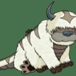 Avatar A Lenda Aang Appa PNG 03