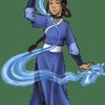 Avatar A Lenda Aang – Katara PNG 01