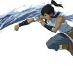 Avatar A Lenda Aang – Katara PNG 03