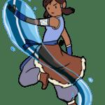 Avatar A Lenda Aang – Katara PNG 04