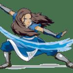 Avatar A Lenda Aang – Katara PNG 05