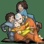 Avatar A Lenda Aang PNG 04