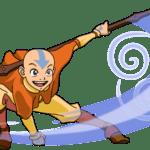 Avatar A Lenda Aang PNG 06