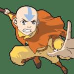 Avatar A Lenda Aang PNG 07